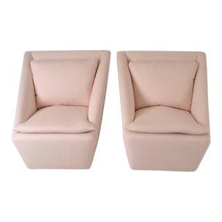 Pair of Petite Swivel Chairs