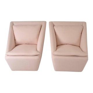 Pair of Petite Swivel Chairs