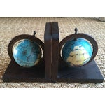 Image of Nautical Spinning Globe Ships Bookends - Pair