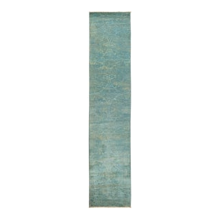 """Vibrance Hand Knotted Runner Rug - 2' 7"""" X 12' 5"""""""