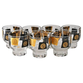 Cera Coin Glasses - Set of 7