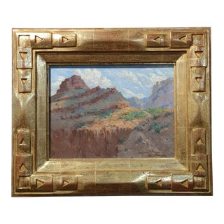 Benjamin Brown -Grand Canyon - Oil Painting- Impressionist