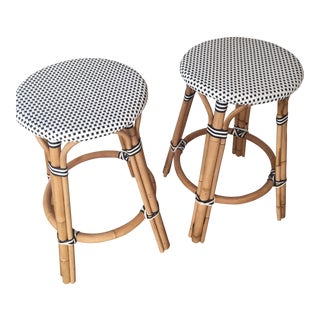Serena & Lily Counter Stools - a Pair
