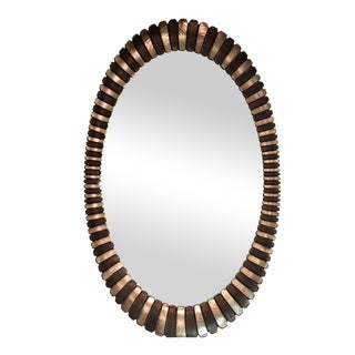 Beautiful Oval Wall Mirror
