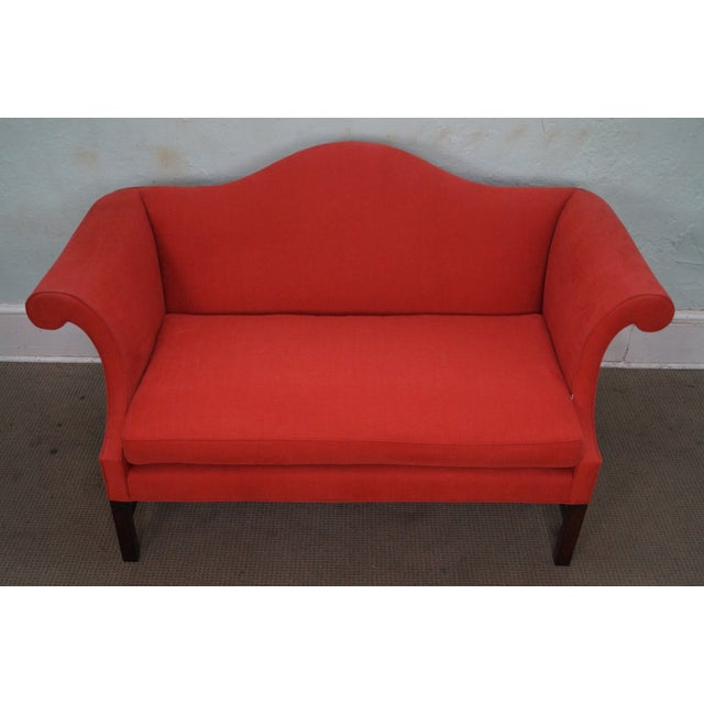 Kittinger Colonial Williamsburg Adaptation Chippendale Style Loveseat - Image 6 of 10