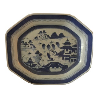 Chinese Export Porcelain Meat Platter