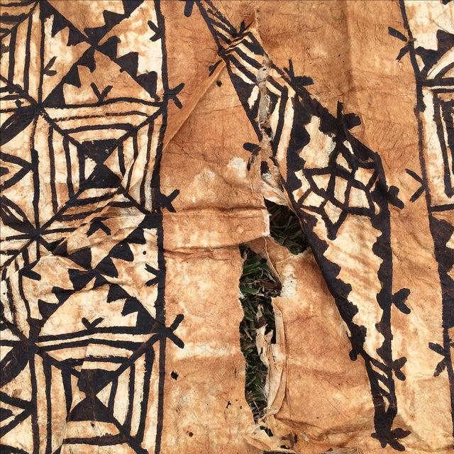 Tapa Cloth Wall Hanging - Image 10 of 10