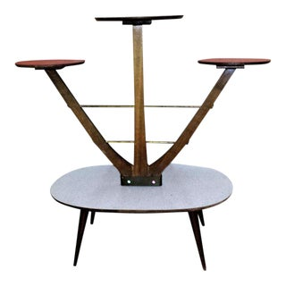 1960's Mid-Century German Display Plant Stand