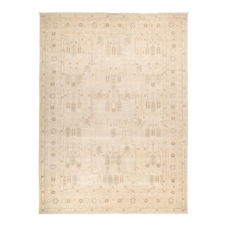 "Ziegler Hand Knotted Area Rug - 10' 2"" X 13' 8"""