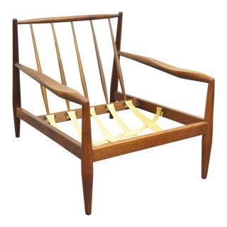 Adrian Pearsall Craft Associates Mid-Century Modern Walnut Lounge Chair