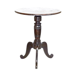 Antique English Turned Table