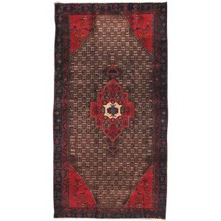 "Vintage Serab Wool Area Rug - 4'9"" X 9'3"""