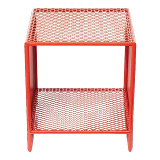 Sabin Outdoor Orange Square Archipelago Table