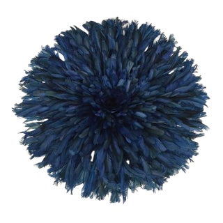 Blue Hat Juju Feather