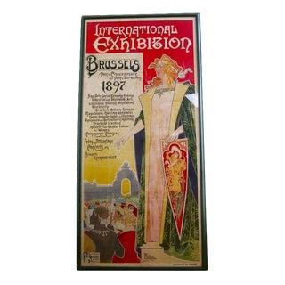 1896 Art Nouveau Poster by Privat-Livemont