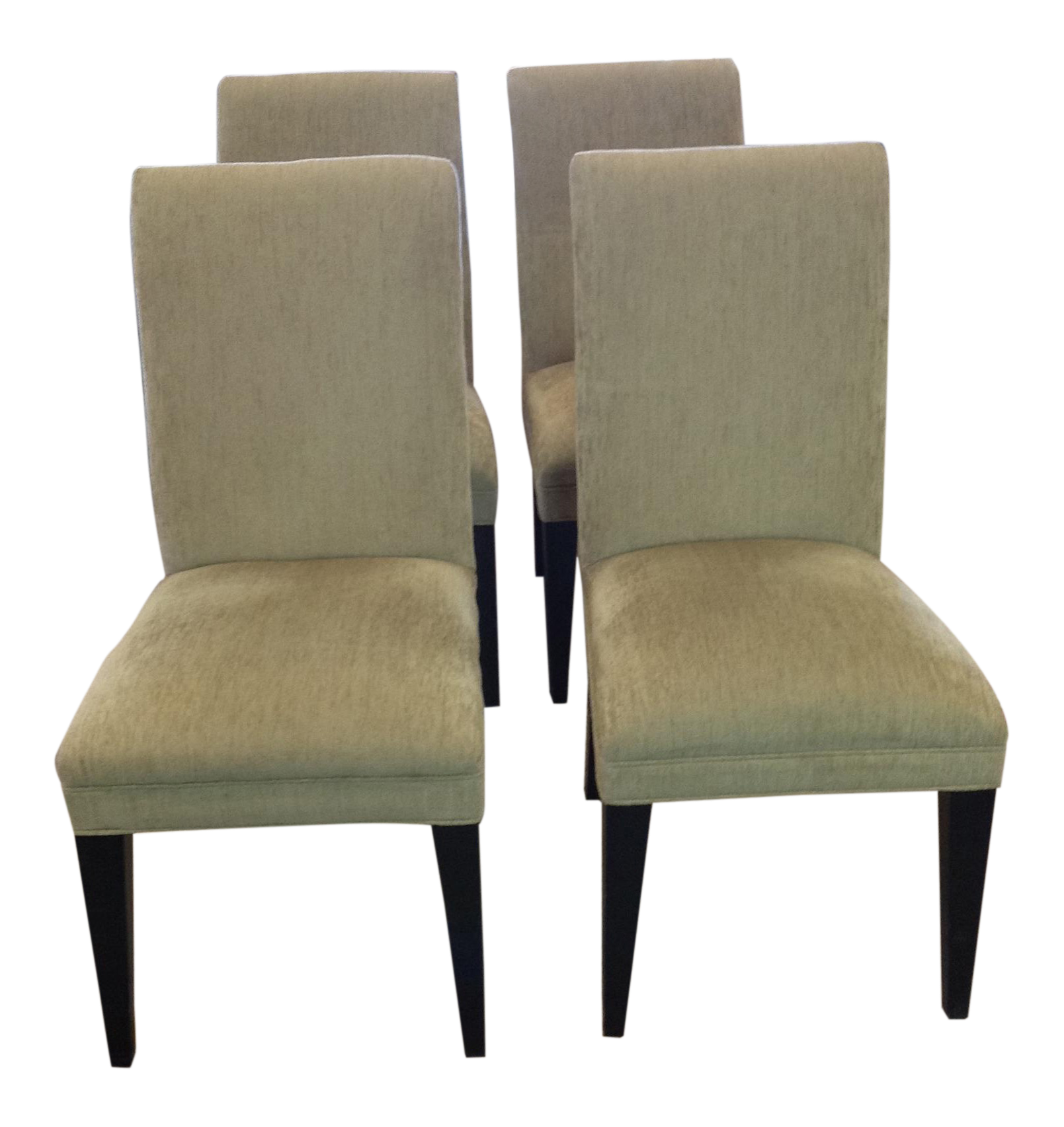 Mitchell Gold Restoration Hardware Dining Chairs   Set Of 4