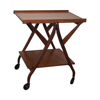Kipp Stewart for Drexel Midcentury Server Bar Cart