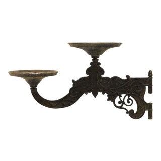 Victorian Cast Iron Gas Lamp Arm