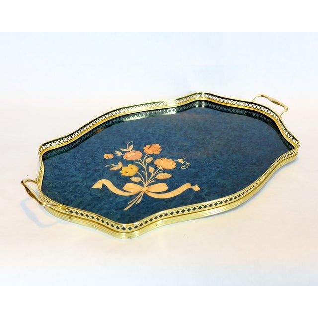 Vintage Italian Marquetry Tray - Image 2 of 6