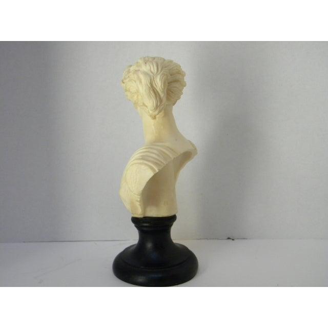 Vintage Classic Greek Goddess Bust - Image 5 of 6
