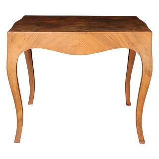 Italian Square Side Table