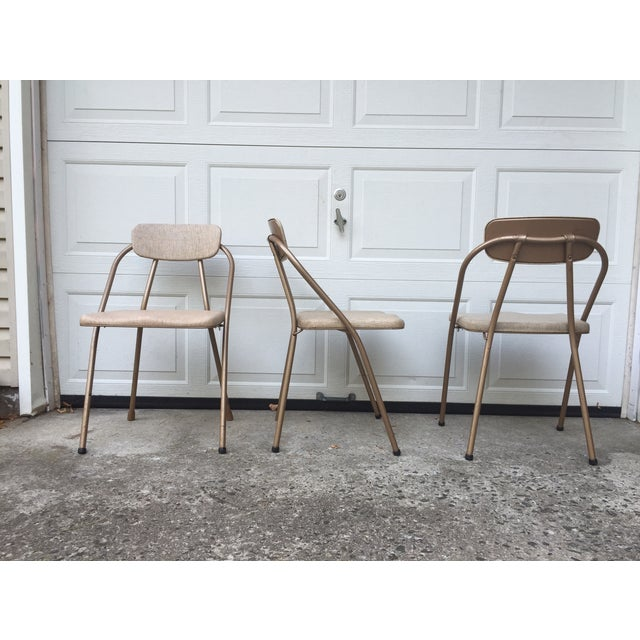 Mid-Century Stylaire Folding Chair - Set of 3 - Image 5 of 11