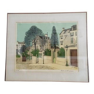 Denis Paul Noyer Signed Limited Edition Lithograph