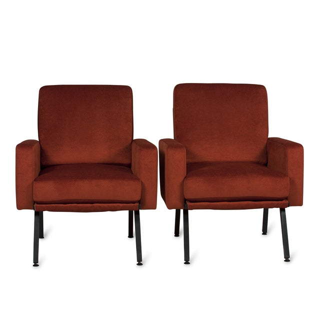 Guariche Style Armchairs, French 1950s - Pair - Image 2 of 5