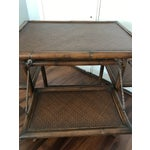 Image of Vintage Boho Chic Serving Bar Cart