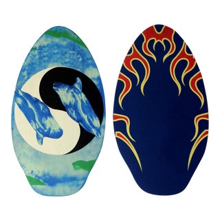 Vintage Water Bodyboards - a Pair