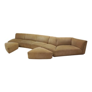 Mid-Century Modern 4 Piece Sectional Sofa