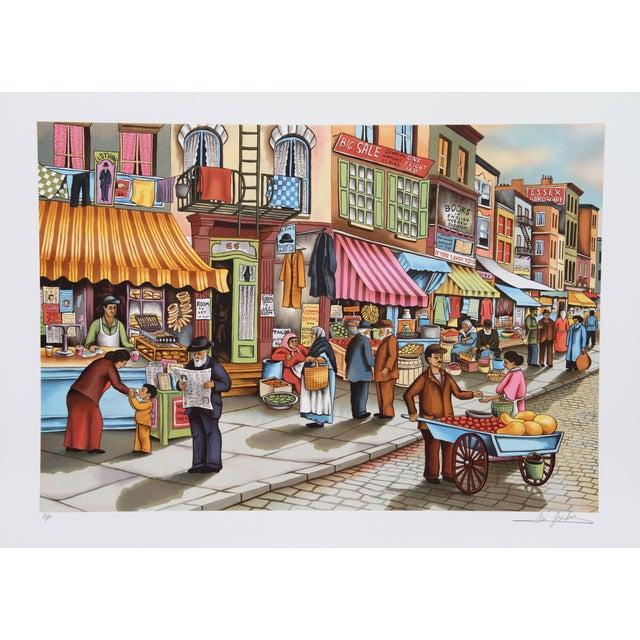 Image of Ari Gradus - Old New York Lithograph