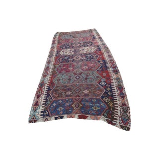 "Antique Turkish Kilim - 5'4"" x 12'6"""