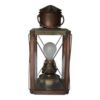 Vintage Carriage Lamp