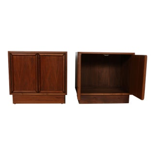 Brown & Saltman for John Keal Nightstands - A Pair