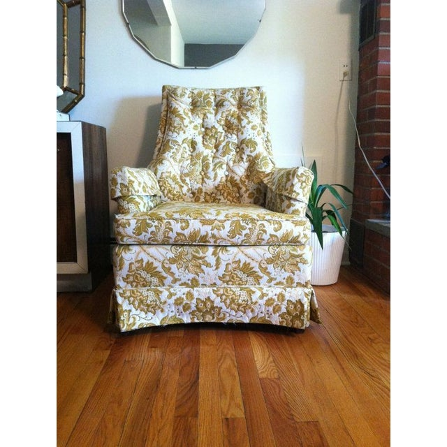 Floral Vintage Armchair - Image 3 of 6