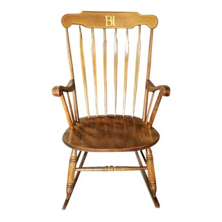 S. Bent & Bros. Colonial Style Rocking Chair