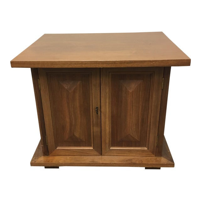 Vintage Michael Taylor Side Table/Nightstand - Image 1 of 7