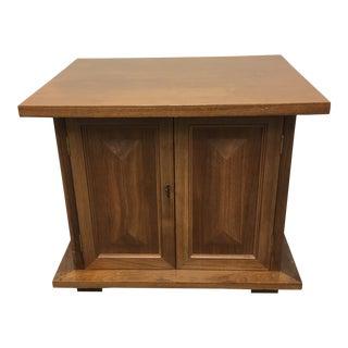 Vintage Michael Taylor Side Table/Nightstand