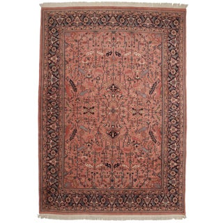 Rugsindallas Vintage Persian Design Wool Area Rug - 10' - 14'