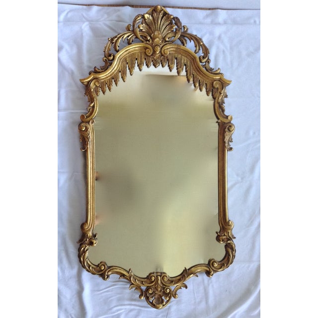French Gilt Carved Mirror - Image 2 of 10