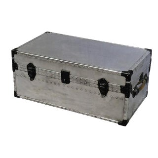 1950's Polished Aluminum Trunk