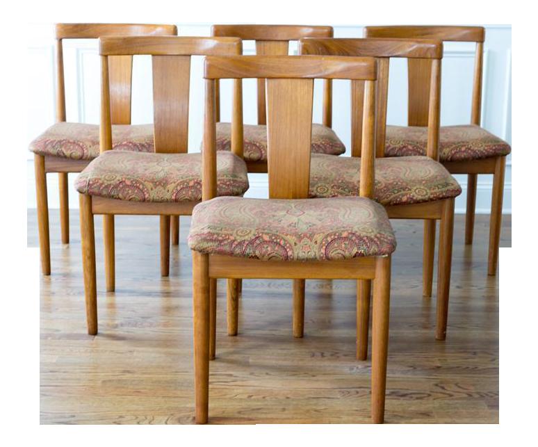 Vamdrup Stolefabrik Danish Modern Dining Chairs Set of 6  : c4973cd0 7f4f 4bbb a192 159a4bd011d6aspectfitampwidth640ampheight640 from www.chairish.com size 640 x 640 jpeg 43kB