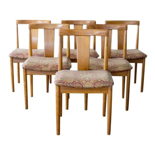 Vamdrup Stolefabrik Danish Modern Dining Chairs - Set of 6