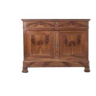 French 19th Century Solid Walnut Louis Philippe Buffet