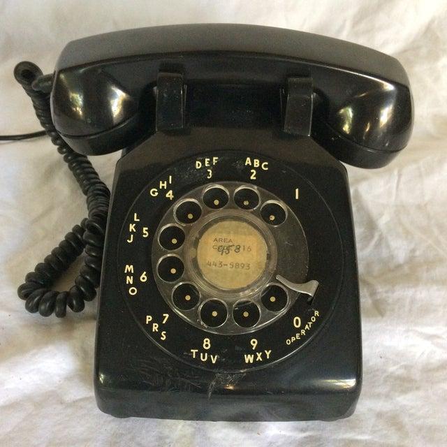 Vintage Black Western Electric Telephone - Image 2 of 11