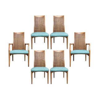 Vintage Drexel Heritage Dining Chairs - Set of 6
