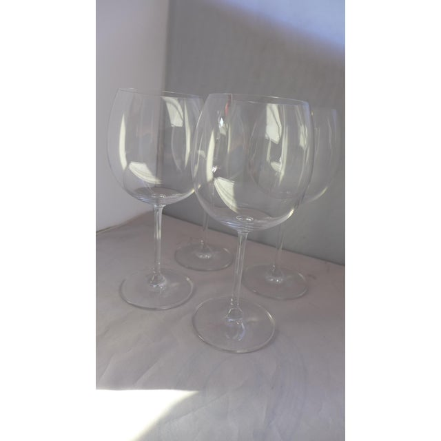 Waterford Clear Crystal Wine Glasses - Set of 4 - Image 3 of 7