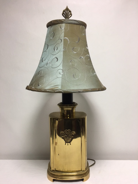 Vintage Ethan Allen Brass Table Lamp   Image 2 Of 10