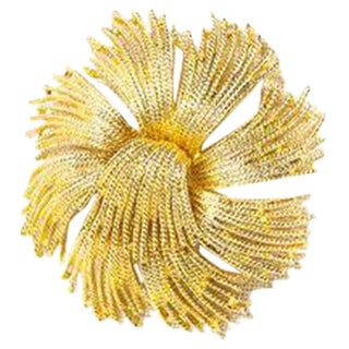 70's Monet Classic Flower Burst Brooch